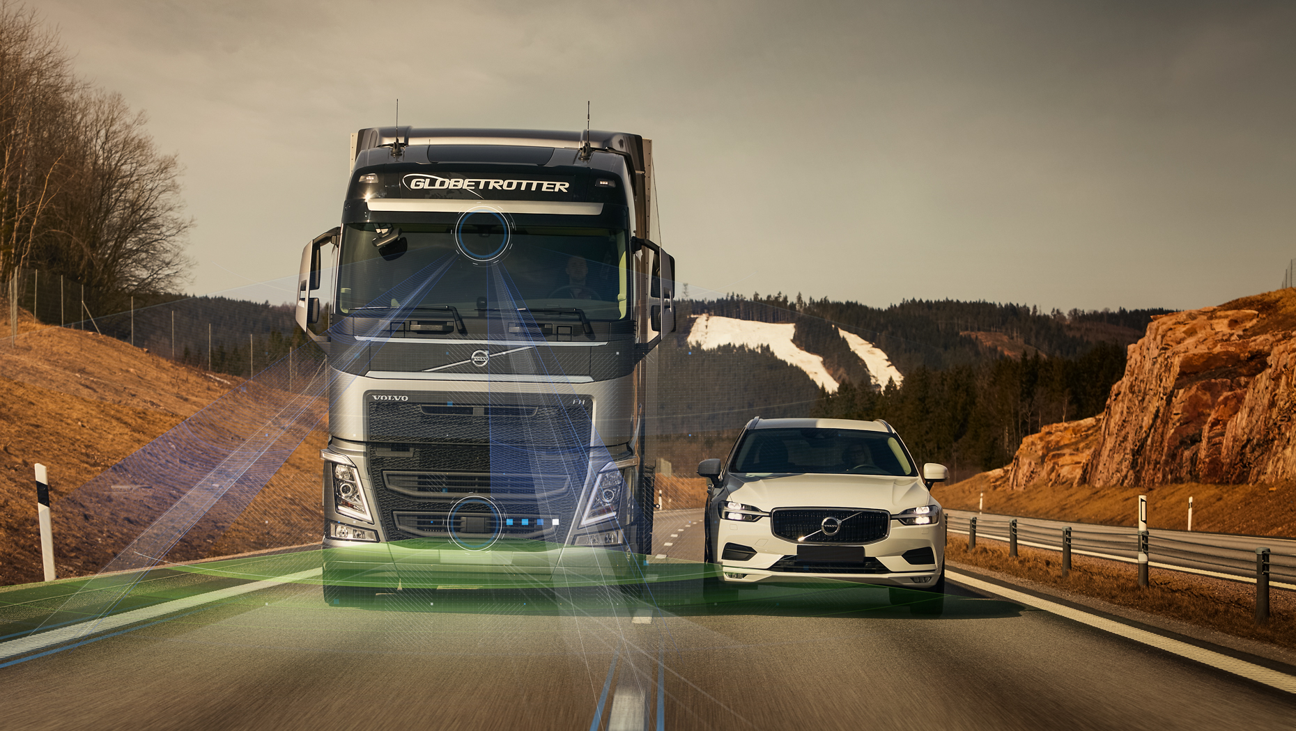 New Volvo Truck Driver Support Systems is bringing safety to a new level