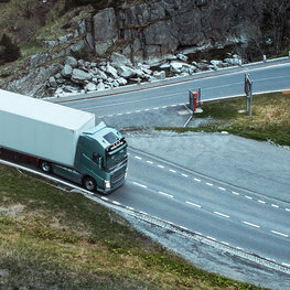 I-See: a feature of the Volvo FH range.