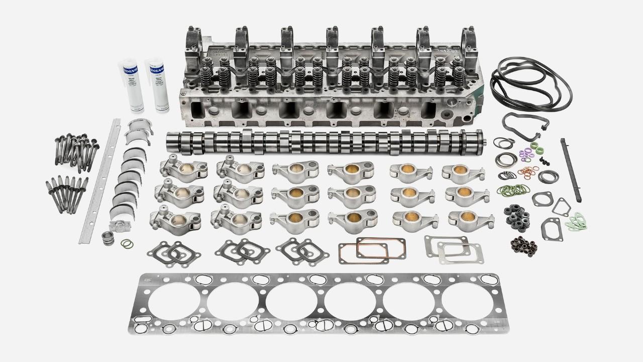 Komplet za remont zgornjega dela motorja Volvo Trucks